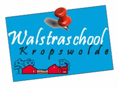 De basisschool van Kropswolde is de Walstraschool, die vandaag de dag ca. 100 leerlingen heeft, verdeeld over 5 groepen.