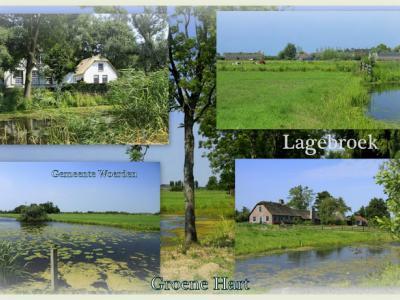 Lagebroek, collage van buurtschapsgezichten (© Jan Dijkstra, Houten)