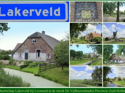 Lakerveld, collage van buurtschapsgezichten (© Jan Dijkstra, Houten)