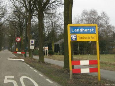 Landhorst is een dorp in de provincie Noord-Brabant, in de regio Land van Cuijk, gemeente Sint Anthonis. T/m 1993 gemeente Wanroij.