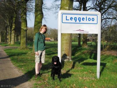 Leggeloo is een buurtschap in de provincie Drenthe, gemeente Westerveld. T/m 1996 gemeente Dwingeloo.