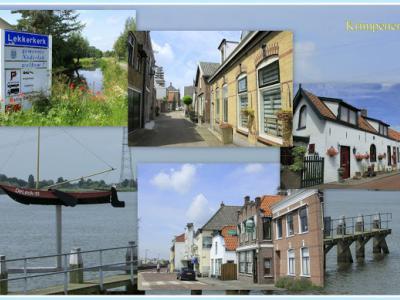 Lekkerkerk, collage van dorpsgezichten (© Jan Dijkstra, Houten)