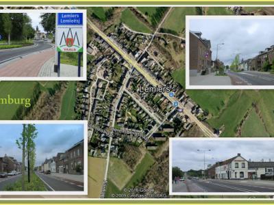 Lemiers is een dorp grotendeels in de provincie Limburg, in de streek Heuvelland, gemeente Vaals en deels in Duitsland. (© Jan Dijkstra, Houten)