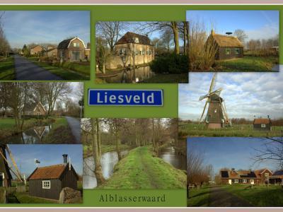 Liesveld is een buurtschap en voormalige gemeente in de provincie Zuid-Holland, in de streek Alblasserwaard. (© Jan Dijkstra, Houten)