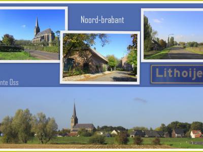 Lithoijen, collage van dorpsgezichten (© Jan Dijkstra, Houten)