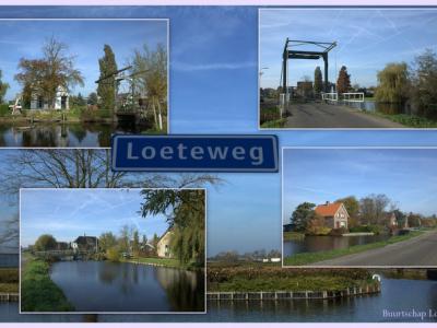 Loete, collage van buurtschapsgezichten (© Jan Dijkstra, Houten)