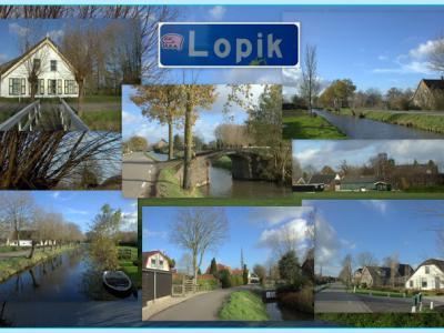De kern Lopik is de afgelopen decennia flink gegroeid, maar gelukkig is om de kern heen ook nog veel landelijk gebied bewaard gebleven (© Jan Dijkstra, Houten)