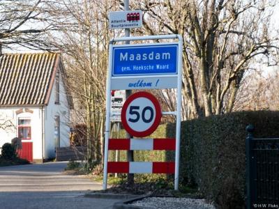 Maasdam is een dorp in de provincie Zuid-Holland, in de streek en gemeente Hoeksche Waard. Het was een zelfstandige gemeente t/m 1983. In 1984 over naar gemeente Binnenmaas, in 2019 over naar gemeente Hoeksche Waard.