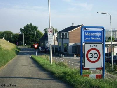 Maasdijk is een dorp in de provincie Zuid-Holland, in de streek Delfland, gemeente Westland. T/m 2003 gemeente Naaldwijk.