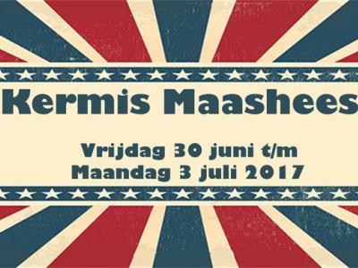In Maashees is er jaarlijks kermis gedurende vier dagen in juni en/of juli