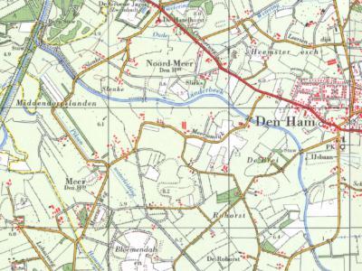 Meer is een buurtschap in de provincie Overijssel, in de (geografische) streek Salland, in grotendeels gemeente Twenterand (t/m 2000 gemeente Den Ham), deels gemeente Hellendoorn. Het deel N van de Linderbeek wordt Noord-Meer genoemd.