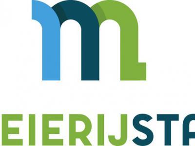 Het logo van de gemeente Meierijstad is een M, met de kleur donkerblauw voor economie, lichtblauw voor ruimtelijk en groen voor natuur. Verder is de M te kantelen, dan staat er een 3, symbool voor de drie gemeenten die in de nieuwe gemeente zijn opgegaan.