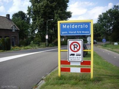 Melderslo is een dorp in de provincie Limburg, in de regio Noord-Limburg, gemeente Horst aan de Maas. T/m 2000 gemeente Horst.