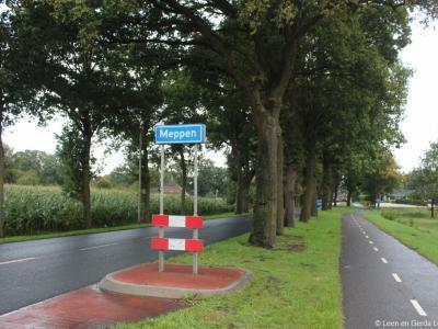 Meppen is een dorp in de provincie Drenthe, gemeente Coevorden. T/m 1997 gemeente Zweeloo.