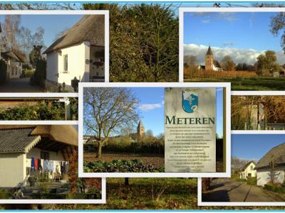 Meteren, collage van dorpsgezichten (© Jan Dijkstra, Houten)
