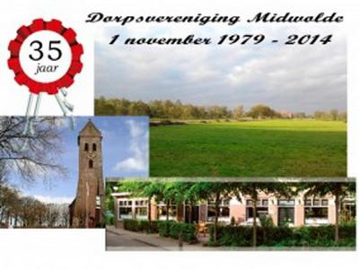 Dorpsvereniging Midwolde is opgericht in 1979.