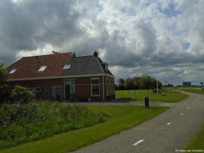 Buurtschap Miedum bij Franeker, buurtschapsgezicht