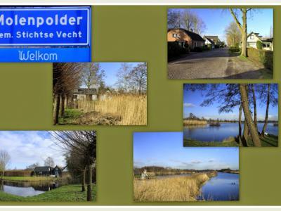 Molenpolder, collage buurtschapsgezichten (© Jan Dijkstra, Houten)