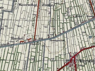 Tot ca. 1950 staat de buurtschap Monniketille/Mûntsetille nog als buurtschap in de atlassen, gebroederlijk naast buur-buurtschappen Rohel/Reahel en Blauwverlaat/Blauforlaet, gedrieën gelegen aan het Knillesdjip/Kolonelsdiep.