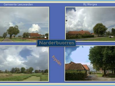 Narderbuorren, collage van buurtschapsgezichten (© Jan Dijkstra, Houten)