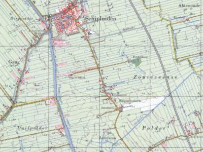 Negenhuizen is een buurtschap in de provincie Zuid-Holland, in de streek en gemeente Midden-Delfland. De buurtschap valt onder het dorpsgebied van Schipluiden en ligt ZO van de dorpskern, rond een deel van de Zouteveenseweg. (© www.kadaster.nl)