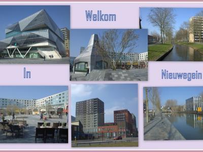 Nieuwegein, collage van stadsgezichten (© Jan Dijkstra, Houten)