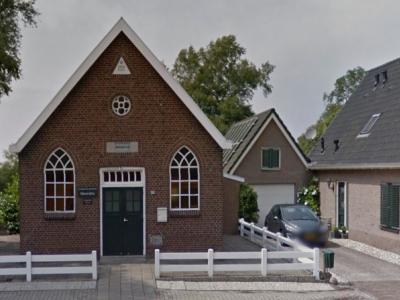 Nijetrijne, het kerkje van Evangelische Gemeente Maranatha dateert uit 1919