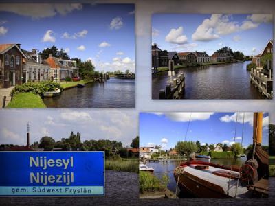 Nijezijl, collage van buurtschapsgezichten (© Jan Dijkstra, Houten)