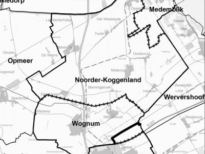 De gemeente Noorder-Koggenland heeft maar kort bestaan; opgericht in 1979, en in 2007 opgeheven en samen met buurgemeente Wognum opgegaan in de gemeente Medemblik.