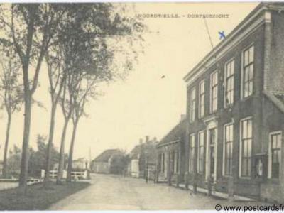 Noordwelle, dorpsgezicht, 1945