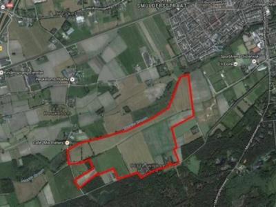 Locatie van het beoogde landgoed Oisterwijkse Hoeven (© gemeente Oisterwijk)