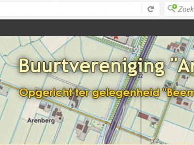 De buurtschap NO van Middenbeemster heet Oostbeemster, en zo heet ook de site van de buurtvereniging. Die vereniging heet zelf echter Arenberg (naar de polder waarin de buurtschap ligt), waardoor sommigen ten onrechte denken dat ook de buurtschap zo heet.