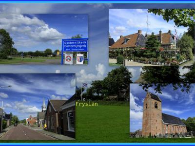 Oosternijkerk, collage van dorpsgezichten (© Jan Dijkstra, Houten)