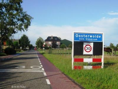 Oosterwolde is een dorp in de provincie Gelderland, in de streek Veluwe, gemeente Oldebroek. T/m 1973 gemeente Doornspijk.