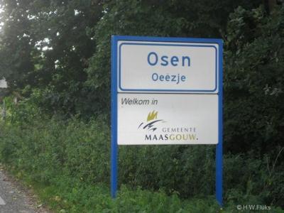 Osen is een buurtschap in de provincie Limburg, in de streek Midden-Limburg, gemeente Maasgouw. T/m 1976 gemeente Linne. In 1977 door een grenscorrectie over naar de gem. Heel en Panheel, in 1991 over naar gem. Heel, in 2007 over naar gem. Maasgouw.