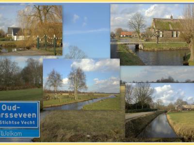 Oud-Maarsseveen, collage van buurtschapsgezichten (© Jan Dijkstra, Houten)