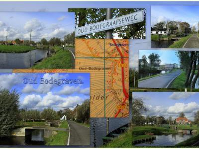 Oud-Bodegraven, collage van buurtschapsgezichten (© Jan Dijkstra, Houten)