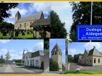 Oudega is een dorp in de provincie Fryslân, gemeente Smallingerland. Althans dít Oudega, want in deze provincie zijn nóg twee dorpen met deze naam. Dit is de grootste en bekendste van de drie. (© Jan Dijkstra, Houten)