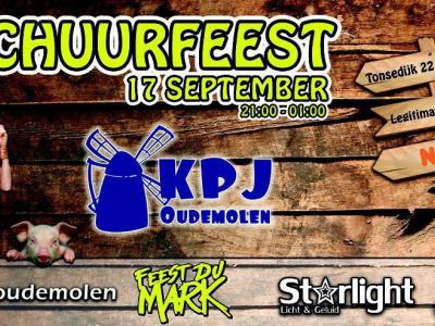 KPJ Oudemolen organiseert door het jaar heen diverse evenementen in en om de buurtschap, zoals het jaarlijkse schuurfeest op een zaterdag in september