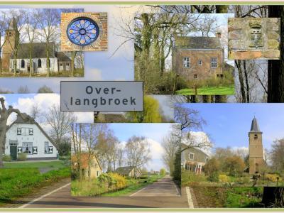 Overlangbroek is een dorp in de provincie Utrecht, gemeente Wijk bij Duurstede. T/m 1995 gemeente Langbroek. De plaatsnaam bestaat helaas niet meer officieel (in de postadressen e.d.). Gelukkig staan er nog wél plaatsnaamborden. (© Jan Dijkstra, Houten)