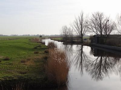 Pieterzijl, de Oude Lauwers (© Harry Perton/https://groninganus.wordpress.com)