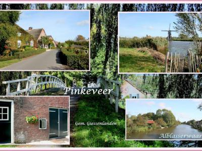 Pinkeveer is een buurtschap in de gem. Molenlanden. Het was (als 'Nederslingeland') een zelfstandige gem. tot 1857. Daarna over naar gem. Peursum, in 1957 over naar gem. Giessenburg, in 1986 over naar gem. Giessenlanden, in 2019 over naar gem. Molenlanden