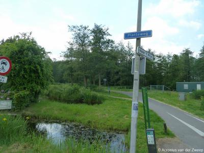 Platteweg is een buurtschap in de provincie Zuid-Holland, in grotendeels gemeente Bodegraven-Reeuwijk, en deels gemeente Gouda. T/m 1990 gemeente Reeuwijk (geheel), in 1991 door een kleine grenscorrectie deels over naar gemeente Gouda.