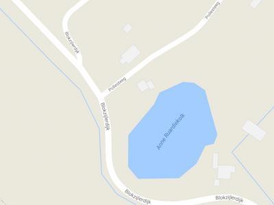Buurtschap Pollesteeg, ZO van de dorpskern van Blankenham, gelegen aan de Anne Ruardiekolk, omvat slechts enkele handenvol panden, maar er valt toch nog best het een en ander over te vertellen. Dat kun je lezen op deze pagina. (© Google)
