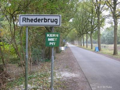 Rhederbrug is een buurtschap in de provincie Groningen, in de streek en gemeente Westerwolde. T/m 31-8-1968 gemeente Bellingwolde. Per 1-9-1968 over naar gemeente Bellingwedde, in 2018 over naar gemeente Westerwolde.