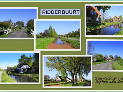 Ridderbuurt, collage van buurtschapsgezichten (© Jan Dijkstra, Houten)