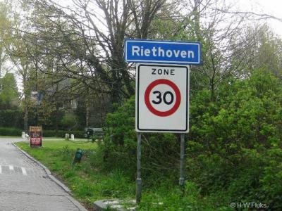Riethoven is een dorp in de provincie Noord-Brabant, in de regio Zuidoost-Brabant, en daarbinnen in de streek Kempen, gemeente Bergeijk. Het was een zelfstandige gemeente t/m 1996.
