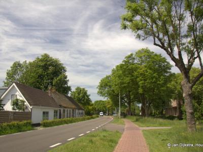 Buurtschap Rietveld tussen Woerden en Bodegraven aan de Oude Rijn