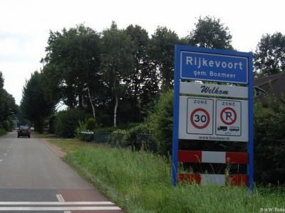 Rijkevoort is een dorp in de provincie Noord-Brabant, in de streek Land van Cuijk, gemeente Boxmeer. T/m 30-4-1942 gemeente Beugen en Rijkevoort. Per 1-5-1942 over naar gemeente Wanroij, in 1994 over naar gemeente Boxmeer.