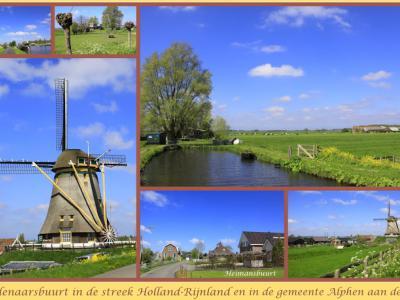 's-Molenaarsbuurt, collage van buurtschapsgezichten (© Jan Dijkstra, Houten)